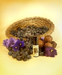 BLUEBERRY VIOLET TRUFFLE PERFUME 5ml  - Cocoa absolute, blueberry, violet, tonka, vanilla in Organic Cane Sugar Alcohol