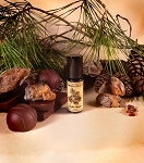 PINYON TRUFFLE PERFUME 5 ml - Chocolate, Pinyon Pine, Pinyon Resin, Swiss Stone Pine, Tonka, Vanilla in Organic Cane Sugar Alcohol