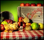 CORVIN'S APPLE FEST PERFUME OIL 5 ml - Apple Pastries, Fresh Apples, Caramel Apples, Warm Apple Cider, Vanilla