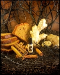 DARK GINGER SPICECAKE PERFUME OIL 5 ml - Gingerbread, Vetiver, Patchouli, Cedar, Amber, Benzoin