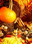 PUMPKIN SPICE LATTE PERFUME OIL 5 ml - Sweet Pumpkin, Cinnamon, Gingerbread Whipped Cream & A Drop of Nutmeg