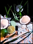 TROPICAL MOON PERFUME OIL 5 ml - Coconut, Tuberose, Tahitian Gardenia, Lime