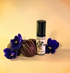 VIOLET TRUFFLE PERFUME OIL 5ml - Dark Chocolate, Violet, Violet Leaf & Vanilla